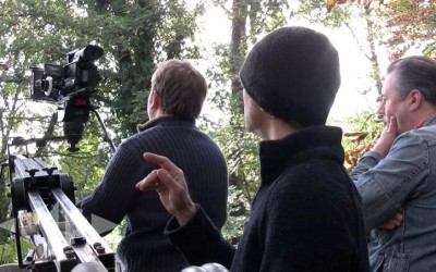 NKMmedia's Ben Nash and Ike Khan use a Jib in the country