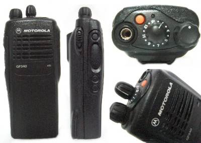 Motorola GP340 Radio Set